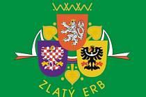 Logo soutěže Zlatý erb, v níž města a obce prezentují své internetové stránky.