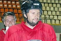 Jan Tomajko ještě v tréninkovém dresu Olomouce, který ve středu vyměnil za kladenský.