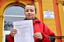 V krajském kole Logické olympiády získal jedenáctiletý Filip Brukner z Kladna stoprocentně pozitivní hodnocení. Jak úspěšný bude ve velkém finále se rozhodne už 22. listopadu.