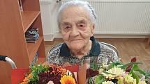 Terezie Jeklová z Kladna oslavila 101. narozeniny.