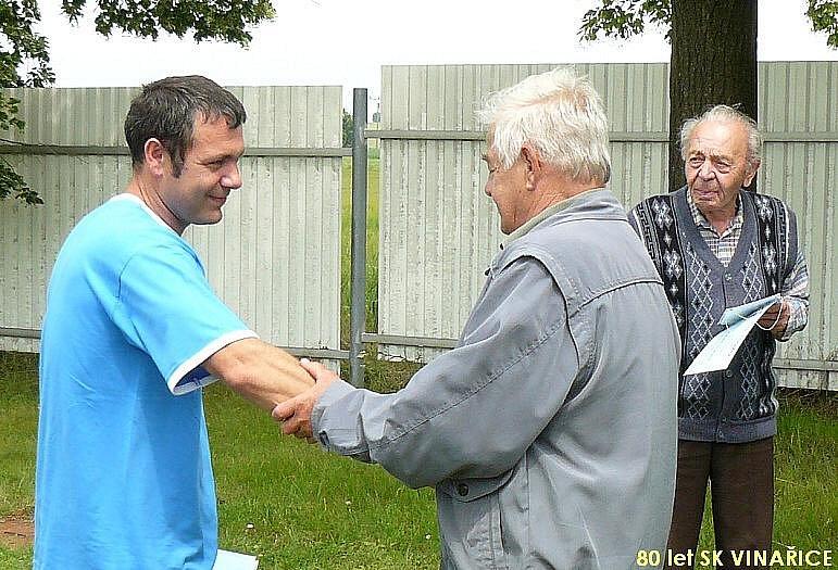 SK Vinařice oslavil 80 let
