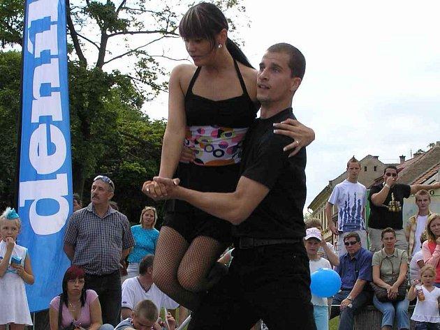 Tanečníci R.A.K. Kladno přítomné diváky nadchli.