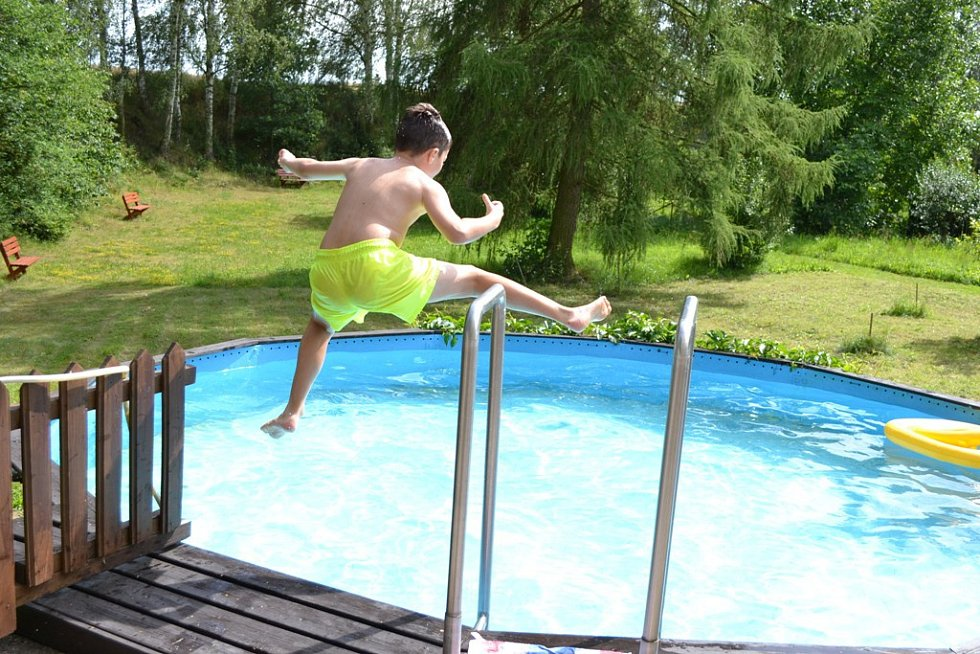 Vodní radovánky v Tuchlovicích