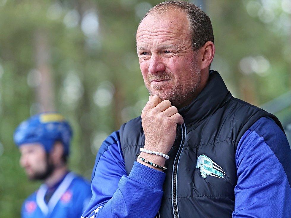 Alpiq Kladno – H.A.K. Pardubice 1:2 p, Autosklo H.A.K. Cup 30. 5. 2020, trenér hostů Jiří Mašík