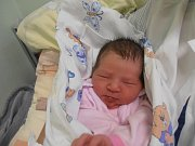 JANA ROHALSKÁ, SLANÝ. Narodila se 3. dubna 2017. Váha 2,92 kg, míra 48 cm. Rodiče jsou Marta a Sergej Rohalských (porodnice Slaný).