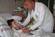V kladenské nemocnici se uskuteční rekonstrukce dětského oddělení.
