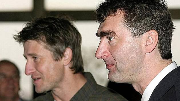 Jan Suchopárek (vpravo) a Michal Horňák.