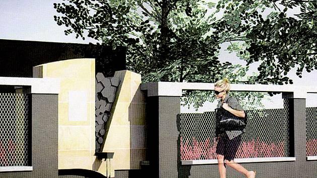 Jeden ze série vítězných návrhů architektů Martina Zajíčka a Jana Studeného