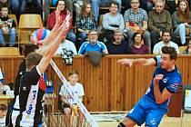 Kladno volejbal cz - Jihostroj České Budějovice 3:0, Extraliga volejbalu, Kladno, 29. 10. 2016