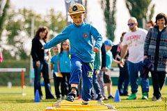 Loni přišly na slánský stadion na tři stovky dětí.