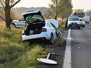Páteční nehoda u Lotouše.