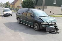 Nehoda se stala v sobotu nedlouho před polednem.