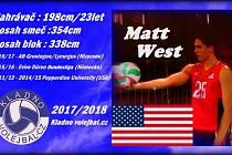Nový nahrávač Kladna Matt West.