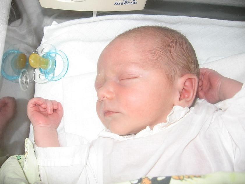 Adam Jícha, Hřebeč, 17.6.2009, váha 3,07 kg, míra 50 cm, rodiče Miloslava Jíchová a Bohumil Bende (porodnice Kladno)