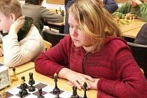 Kateřina Budíková (Buštěhrad C) se chystá na MČR dívek do 16 let.