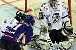 Hokejová extraliga: Liberec - Kladno 2:1, Bělohlavova teč Leinonena nepřekvapila.