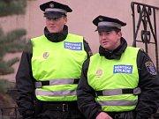Na bezpečnost dohlížela i policie.