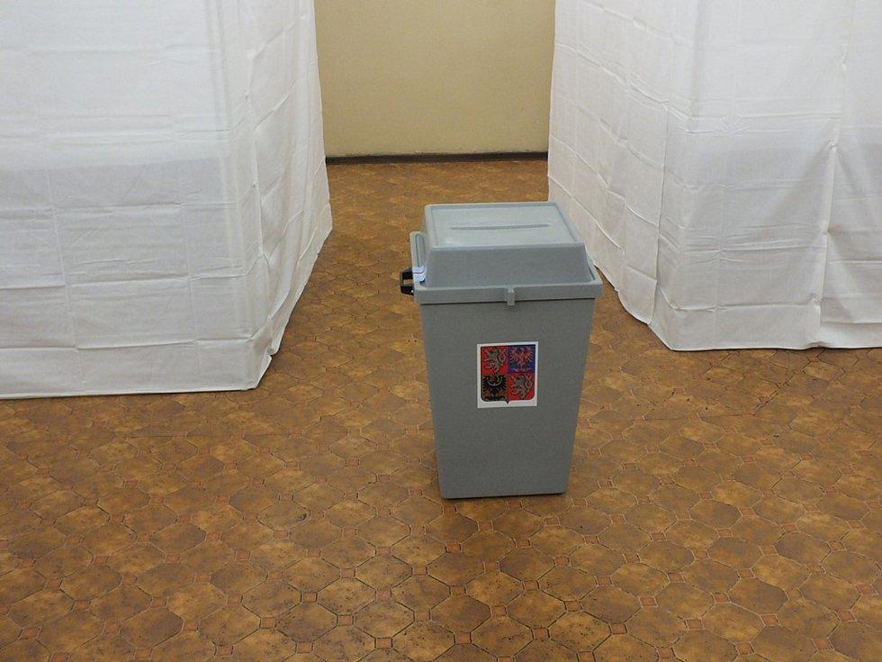 Volby ve Věznici Vinařice.