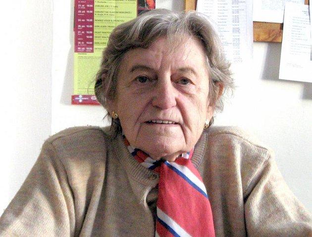Věra Šašková zastává funkci náčelnice Sokolské župy Budečské jen s krátkým přerušením téměž dvě desetiletí.