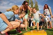 Atletika pro děti ovládla slánský stadion.