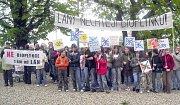 Většina obyvatel Lán nesouhlasí se záměrem vybudovat nedaleko obce bioplynovou stanici.