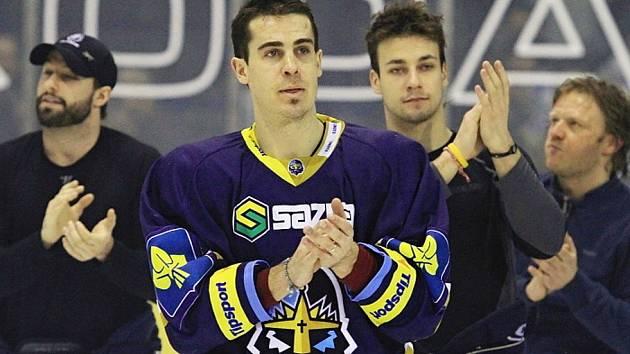 Kladno - Brno, konec série plný emocí. Michal Dragoun
