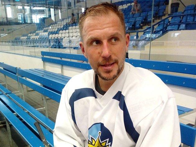 Petra Vampola po prvním tréninku v Kladně.
