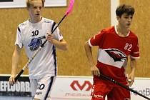 Matyáš Bachmaier (vlevo) spojil svou kariéru smluvně s Kladnem.
