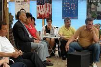 Debata nejvíce zajímala balkánskou minoritu žijící v české republice