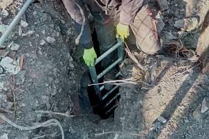 V Kladně u Panské louky byla objevena stará štola