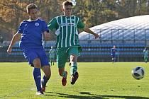 SK Kladno, z. s. - FK Meteor Praha VIII, z.s. 1:2 (0:1) Pen: 4:5, DIVIZE B, 26. 10. 2019
