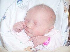 Aneta Šimralová, Chlumčany u Loun. Narodila se 6. listopadu 2013. Váha 3,12 kg, míra 50 cm. Rodiče jsou Michaela Šimralová (porodnice Slaný).
