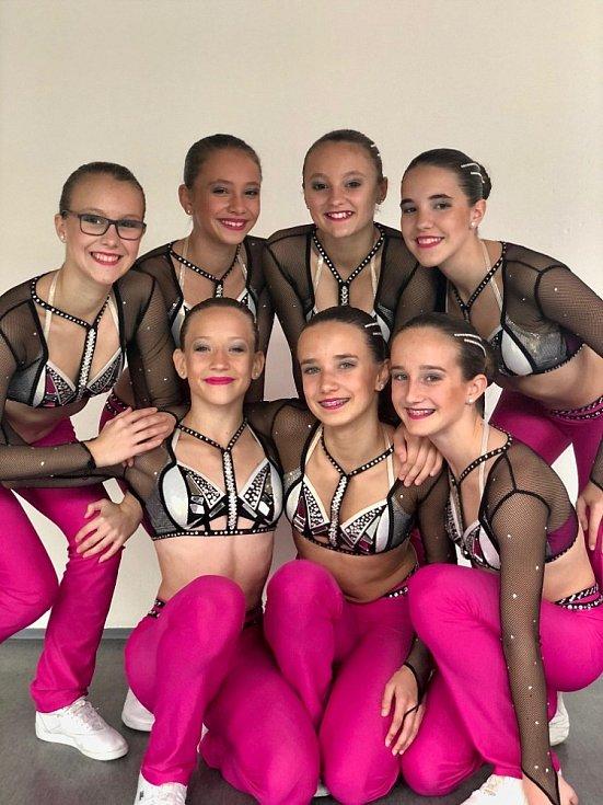 MČR aerobik 2019. Dancers Kladno kadetky