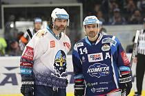 Před časem Kladno hostilo Kometu Brno, Jaromír Jágr hostil Tomáše Plekance. Nyní se role obrátí.