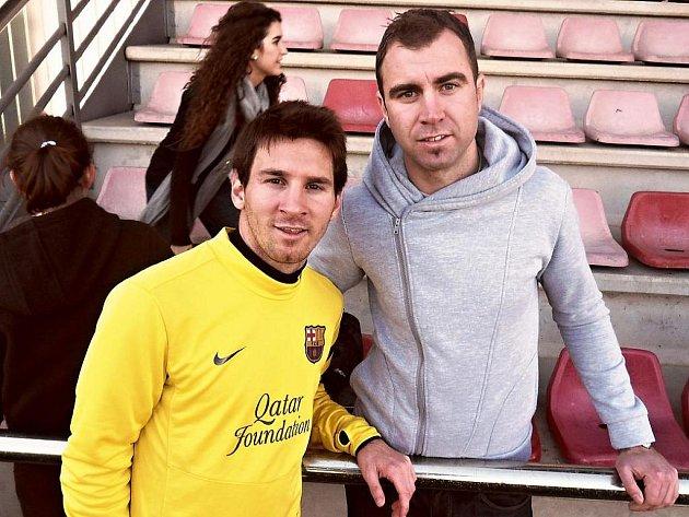 Filip Toncar s Lionelem Messim