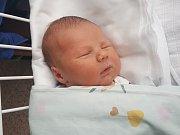 ROBIN ŠKOLNÍK, HOSTIVICE. Narodil se 17. prosince 2018. Po porodu vážil 3,71 kg a měřil 50 cm. Rodiče jsou Kateřina Školníková a Roman Školník. Sourozenci Rozárka a Richard. (porodnice Kladno)
