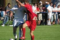 Martin Bílek (v bílém) hrál výtečně.