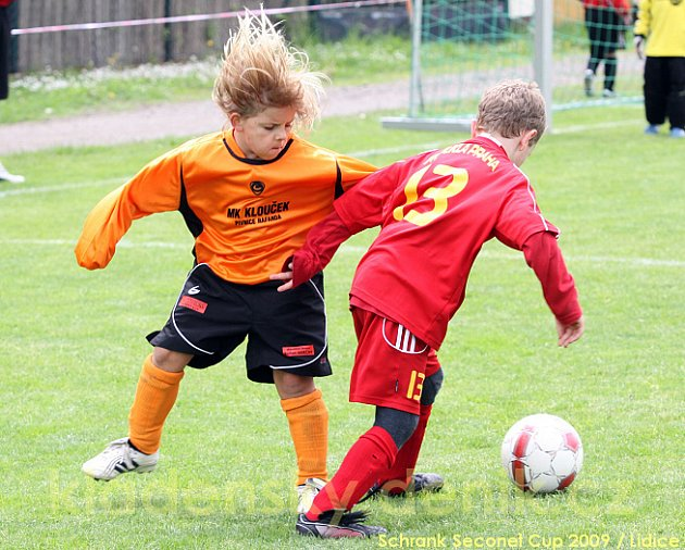 Schrack Seconet Cup 2009 - fotbalový turnaj přípravek (Lidice 16.5.2009)