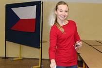 Prezidenta si zkusili zvolit také studenti Sportovního gymnázia Kladno.