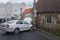 Nehoda v Unhošti.