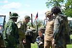 Členové spolku Vojenský skanzen Smečno se činili a přidali do areálu nové exponáty.