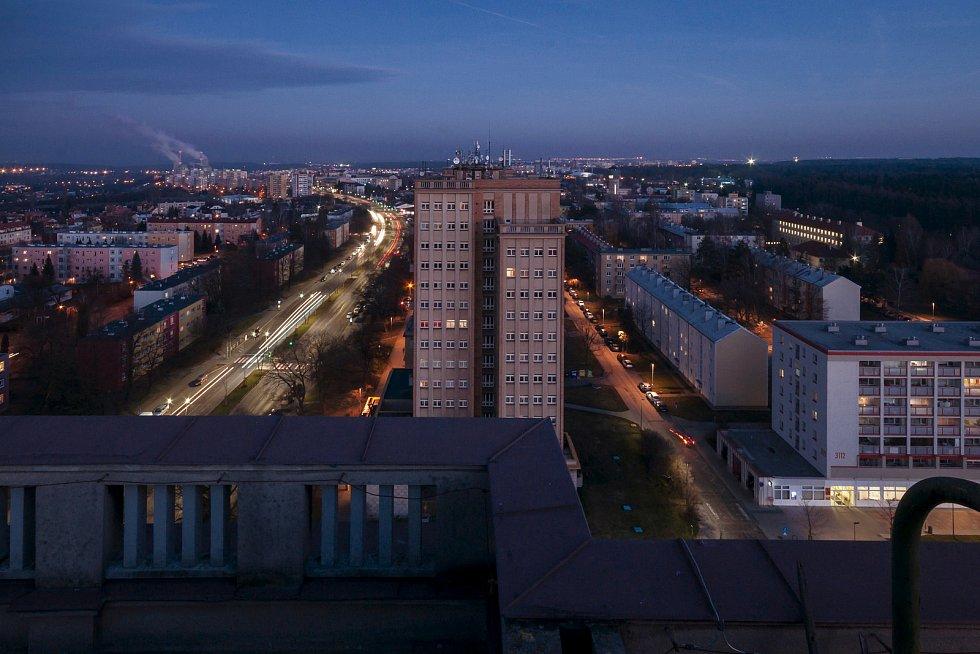 Kladenský rozdělovský věžák, kde je muzeum, bude mít nově i střešní vyhlídku.