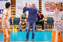 Sportovní ředitel VK Eurositex Příbram Daniel Rosenbaum.