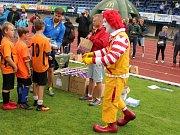 Krajské finále McDonalds Cupu ve Vlašimi.