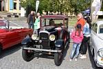 V sobotu se v Lidicích uskutečnil 3. ročník spanilé jízdy veteránů všech kategoriích.
