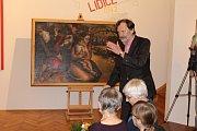 Ve čtvrtek 21. září bylo vprostoru stálé expozice umění vLidicích předáno do místní sbírky dílo Stana Younga, které pro Lidice vytvořil vroce 1954.