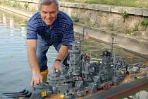MISSOURI. Bitevní loď Josefa Meidla na sebe upozornila svojí velikostí a dokonalostí.