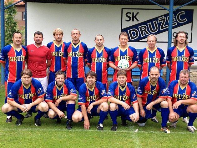 Vítězný tým SK Družec