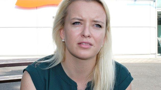 Petra Landová, kdysi skvělá plavkyně a dnes trenérka KSP Kladno a mládežnické reprezentace.