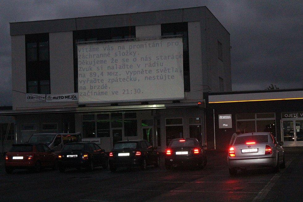 Autokino v Klatovech.